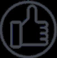 Das Bild zeigt einen Icon für die Tiny House Kauf Beratung: Individuelle Empfehlung