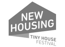 Das Bild zeigt das Logo von der Tiny House Messe in Karlsruhe